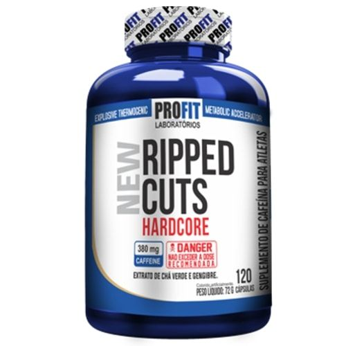 Ripped Cuts 120caps - Profit  - Personall Suplementos