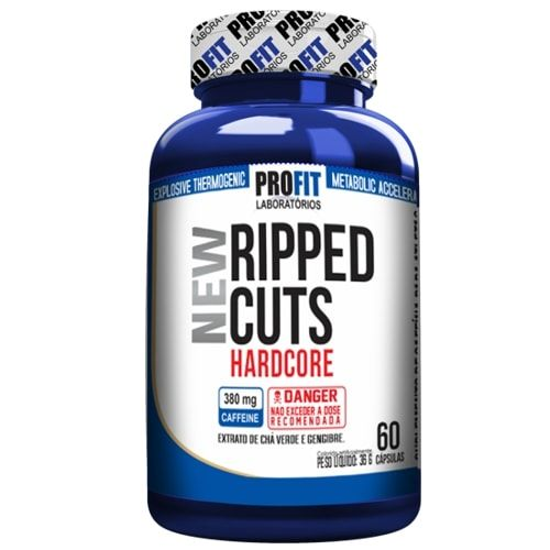 Ripped Cuts 60caps - Profit  - Personall Suplementos