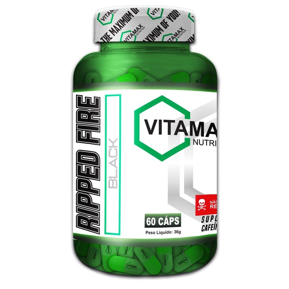 Ripped Fire 60 cápsulas - Vitamax