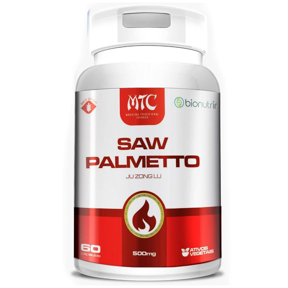 Saw Palmetto 500 mg 60 cápsulas - Bionutrir