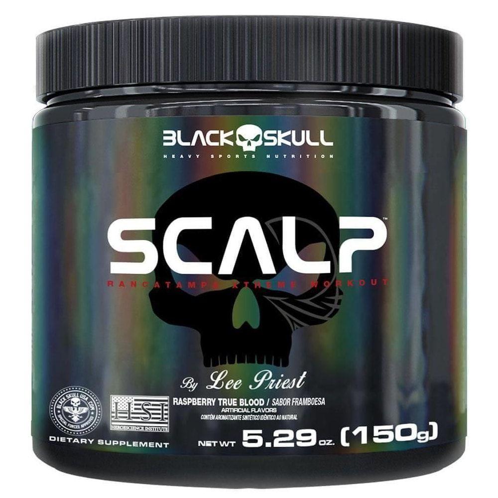 Scalp 150 gramas - Black Skull  - Personall Suplementos