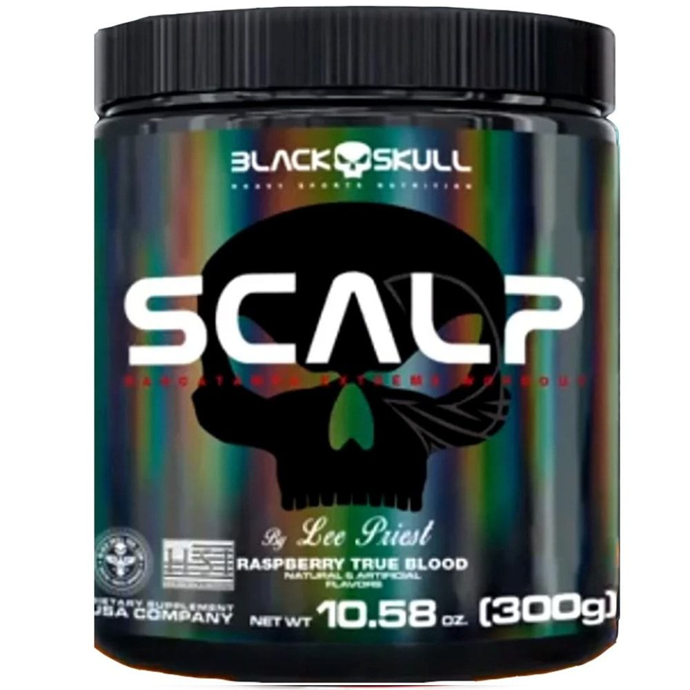 Scalp 300 gramas - Black Skull  - Personall Suplementos