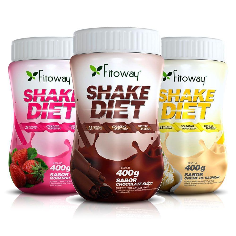 Shake Diet 400 gramas - Fitoway  - Natulha