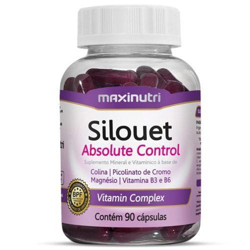 Silouet Absolute Control 90caps - Maxinutri  - Natulha
