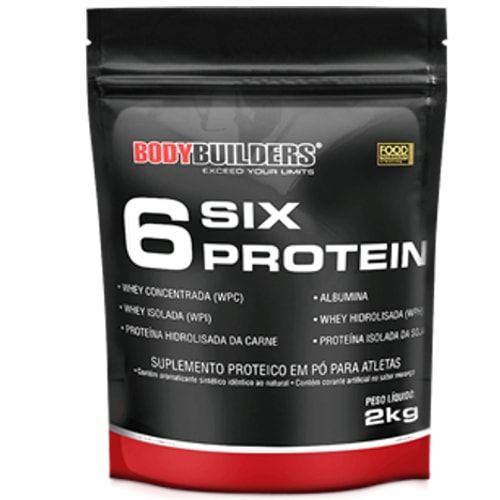 Six Protein 2kg - Bodybuilders  - Personall Suplementos