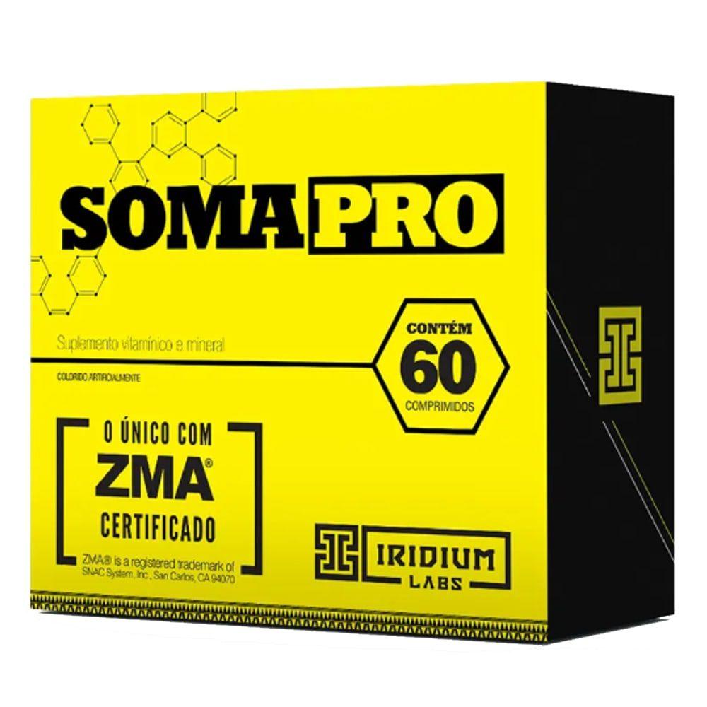 Soma Pro ZMA 60 tabs -  Iridium labs