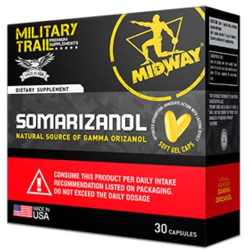Somarizanol 30caps - Midway - Military Trail  - Personall Suplementos
