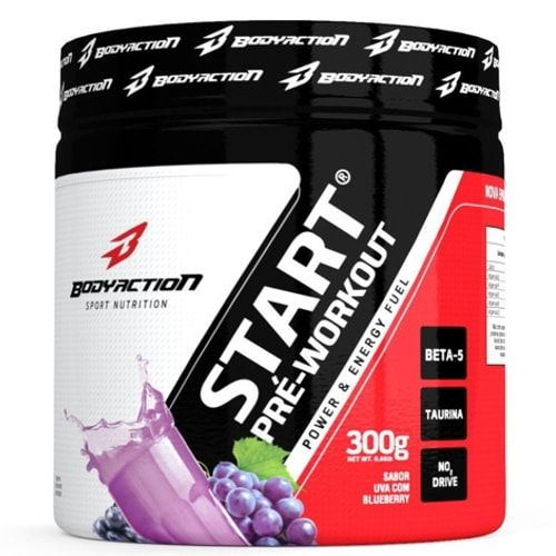 START PRÉ-WORKOUT 300g - Body Action  - Personall Suplementos