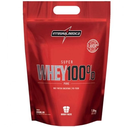 Super Whey 100% Pure 1,8kg - Integralmedica  - Personall Suplementos
