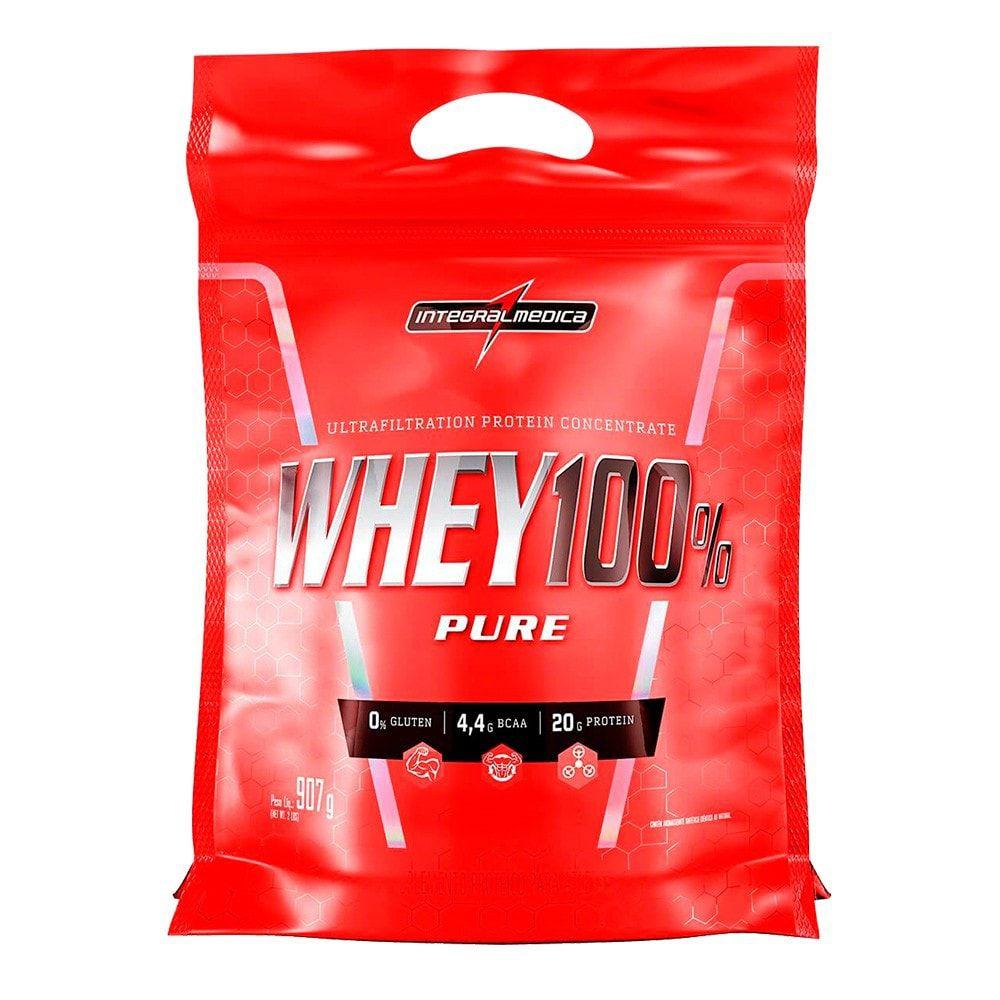 Super Whey 100% Pure 900g Refil - Integralmedica  - Personall Suplementos