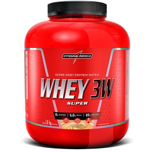 Super WHey 3W 1,8kg - Integralmedica  - Personall Suplementos