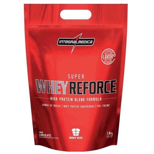 Super Whey Reforce 1,8kg - Integralmedica   - Personall Suplementos