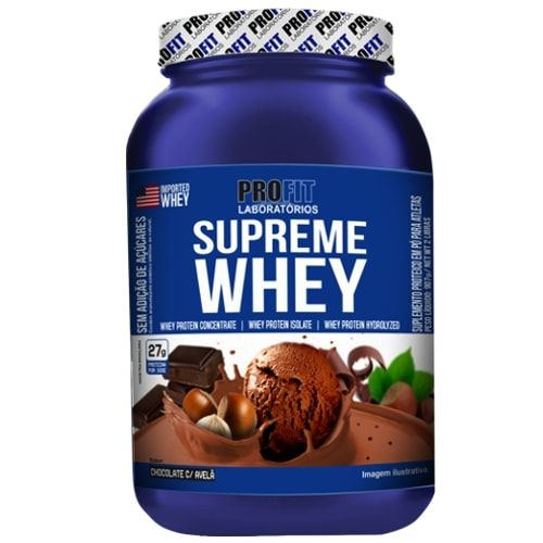 Supreme Whey 907g - Profit  - Personall Suplementos