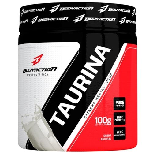 Taurina 100g - Body Action  - Personall Suplementos
