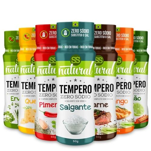 Tempero Zero Sódio - SS Natural  - Personall Suplementos