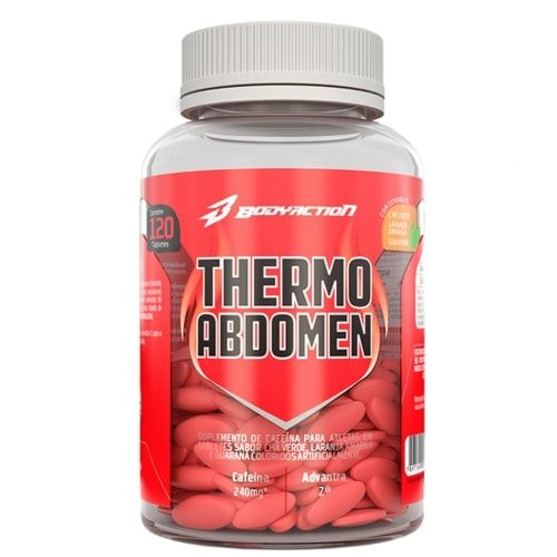 Thermo Abdomen 120tabs - Body Action - Personall Suplementos