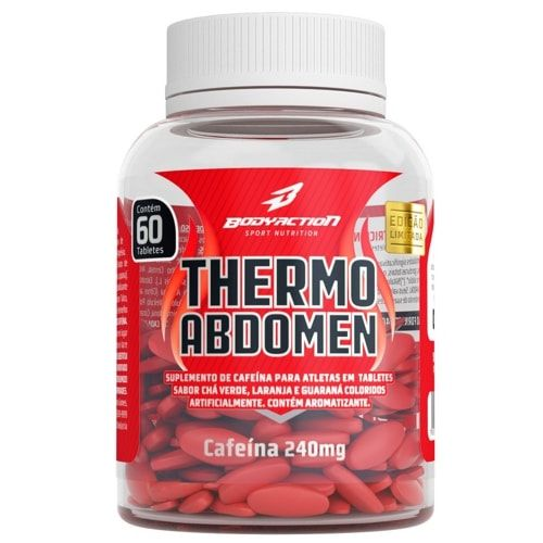 Thermo Abdomen 60tabs - Body Action  - Personall Suplementos
