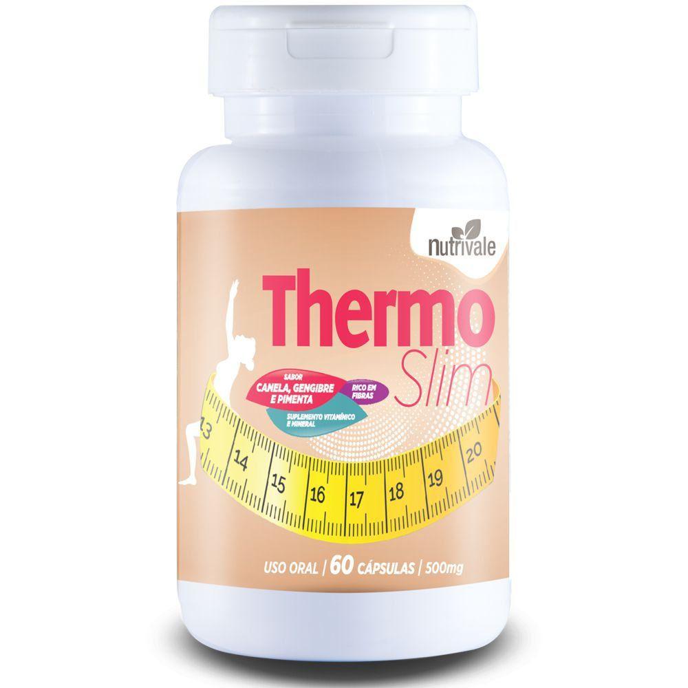 Thermo Slim - 60 cápsulas - Nutrivale  - Natulha