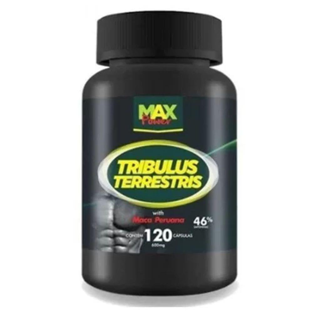 Tribulus Terrestris Com Maca Peruana  - 120 cápsulas - Max Power
