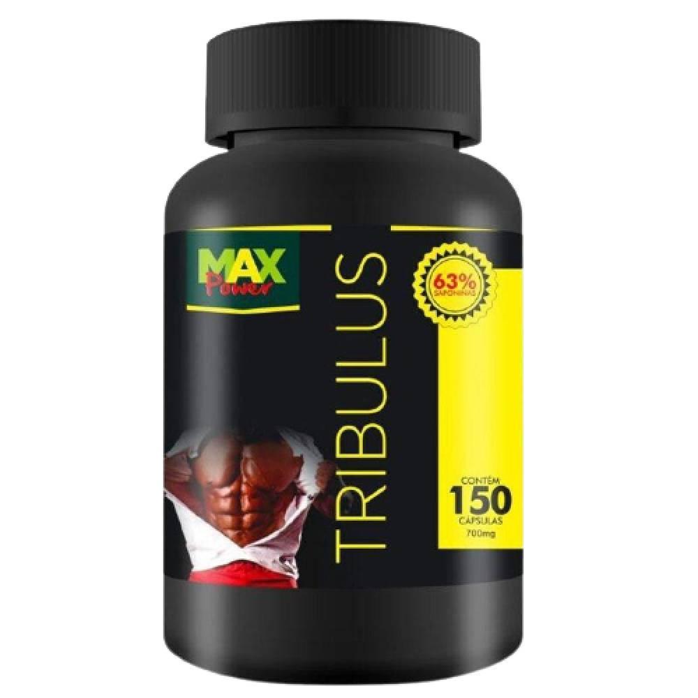 Tribulus Terrestris Puro 700mg 63% 150 cápsulas - Max Power