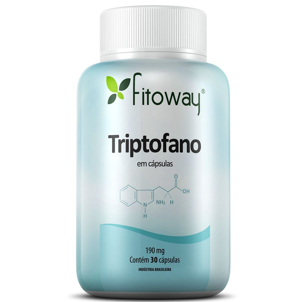 Triptofano 30 cásulpas - Fitoway