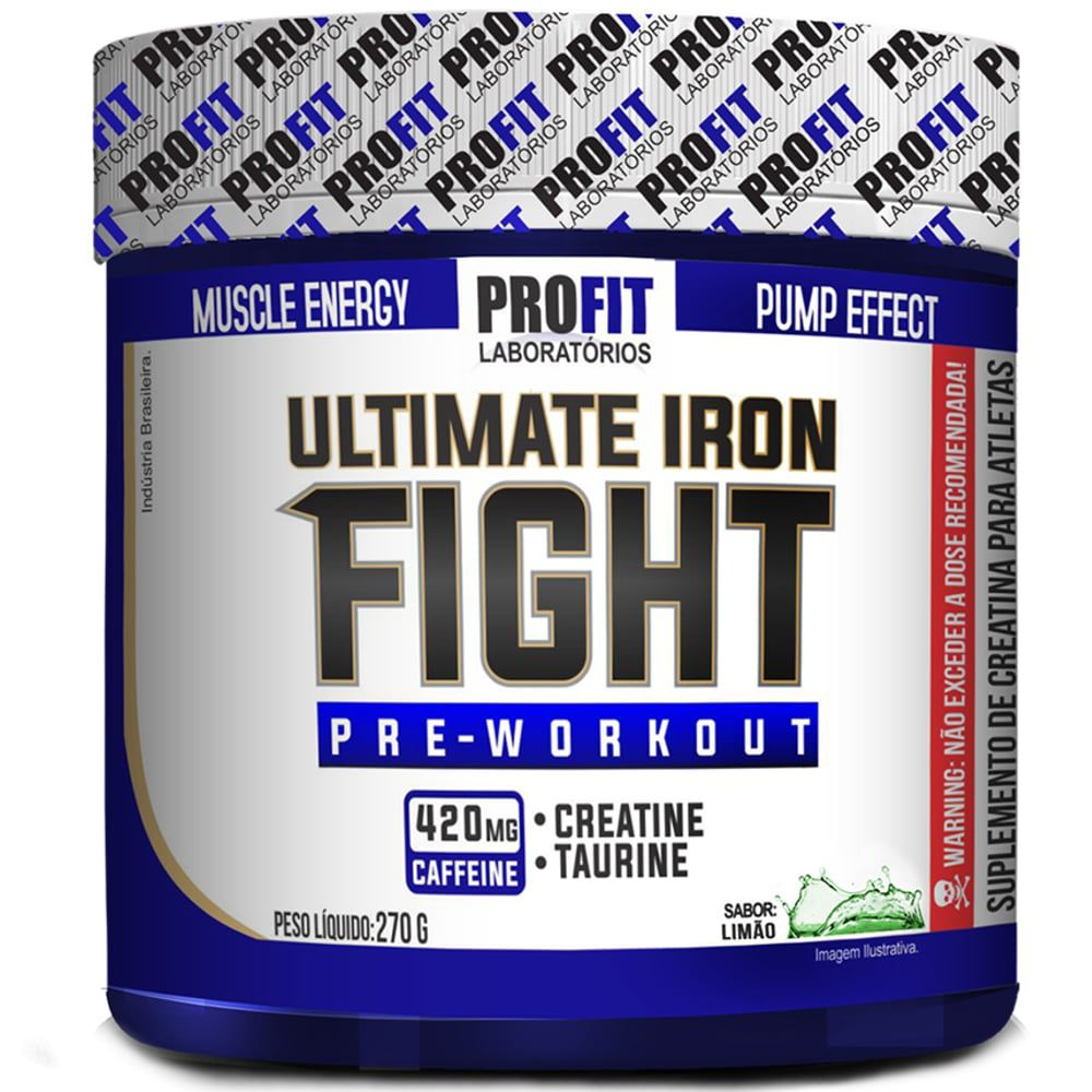 Ultimate Iron Fight - Profit  - Personall Suplementos