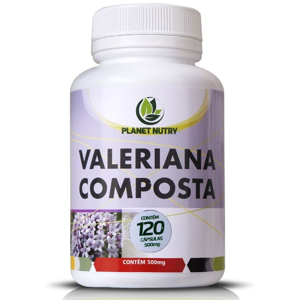 Valeriana Composta 60 cápsulas - Planet Nutry
