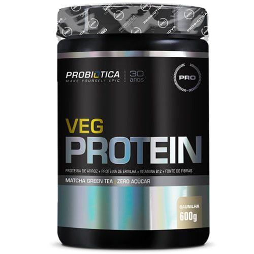 Veg Protein 600g - Probiotica   - Personall Suplementos