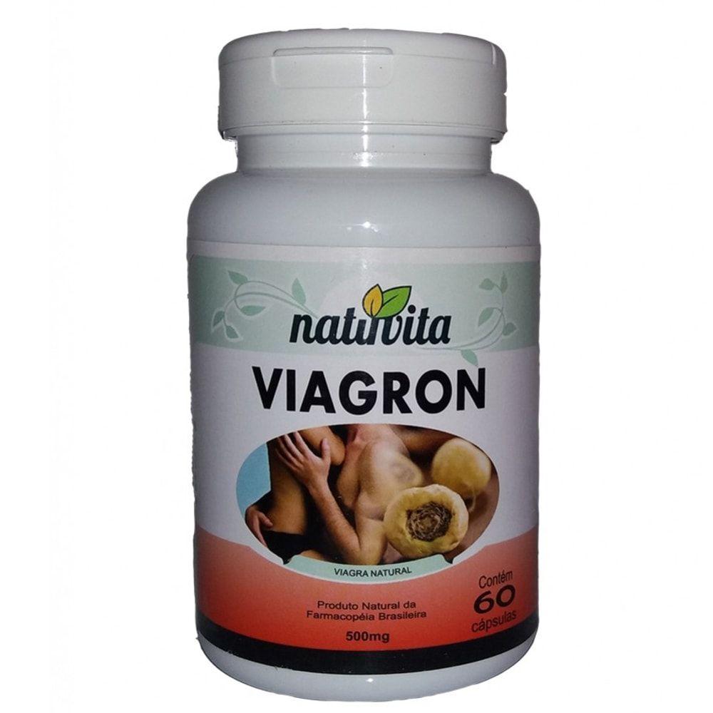 Viagron Estimulante Sexual Natural 60 cápsulas - Natuvita  - Natulha