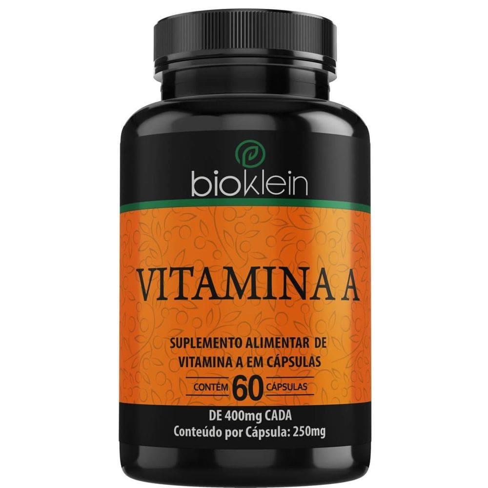 Vitamina A 60 cápsulas - Bioklein