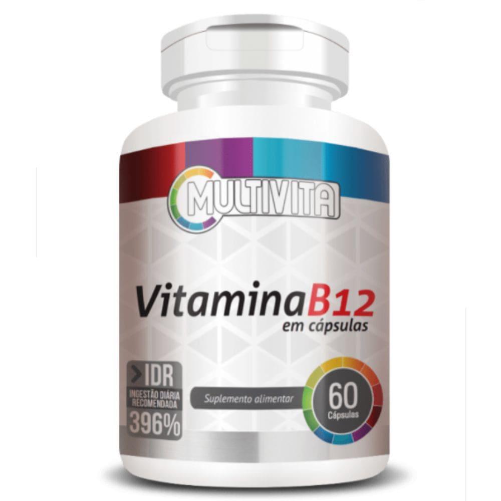 Vitamina B12 396% IDR  60 cápsulas - Multivita