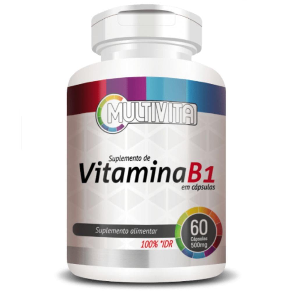 Vitamina B1 60 cápsulas - Multivita