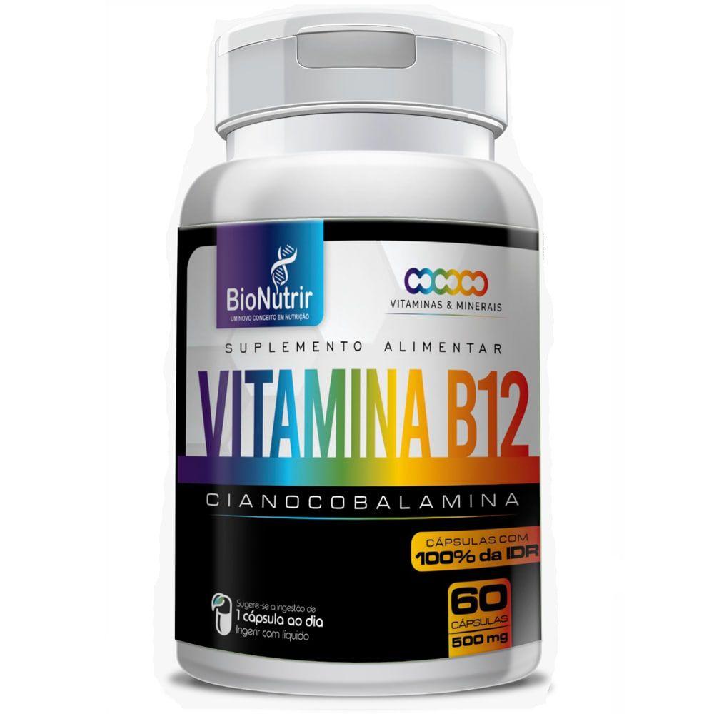 Vitamina B12 60 Cápsulas - Bionutrir