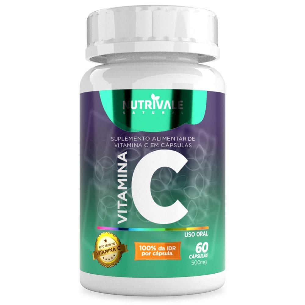 Vitamina C (Ácido Ascórbico) 60 cápsulas - Nutrivale