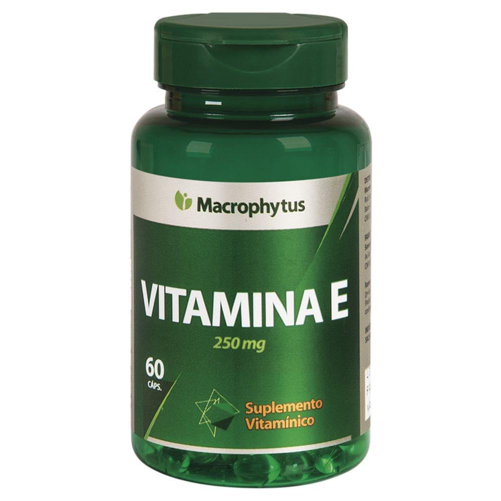 Vitamina E 250mg 60 cápsulas - Macrophytus