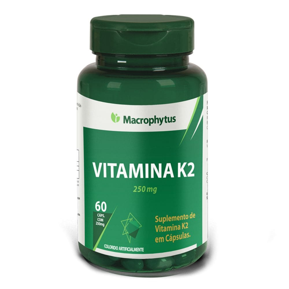 Vitamina k2 (Menaquinona) 250mg 60 cápsulas - Macrophytus