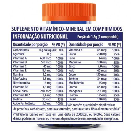 Vitaplete 60tabs - Arnold Nutrition  - Personall Suplementos