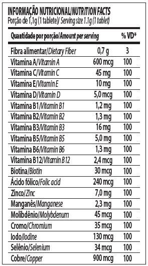 Vitapure 60tabs - Integralmedica  - Personall Suplementos