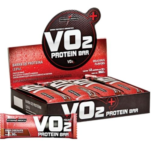 Vo2 Protein Bar 12und - Integralmedica  - Personall Suplementos