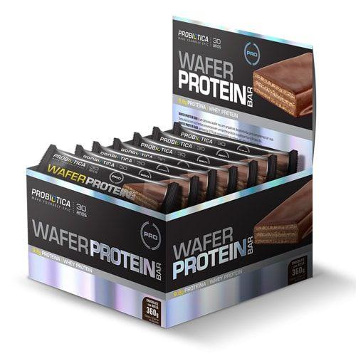 Wafer Protein Bar 12 und - Probiótica   - Personall Suplementos