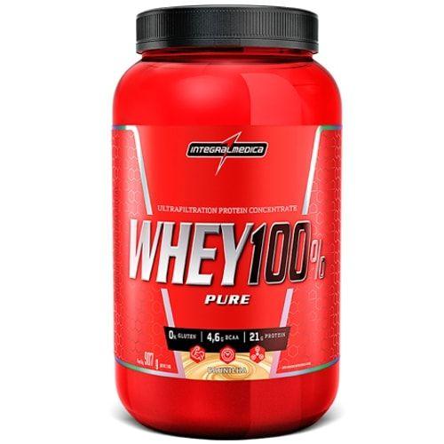 Whey 100% Pure 907g - Integralmedica  - Personall Suplementos