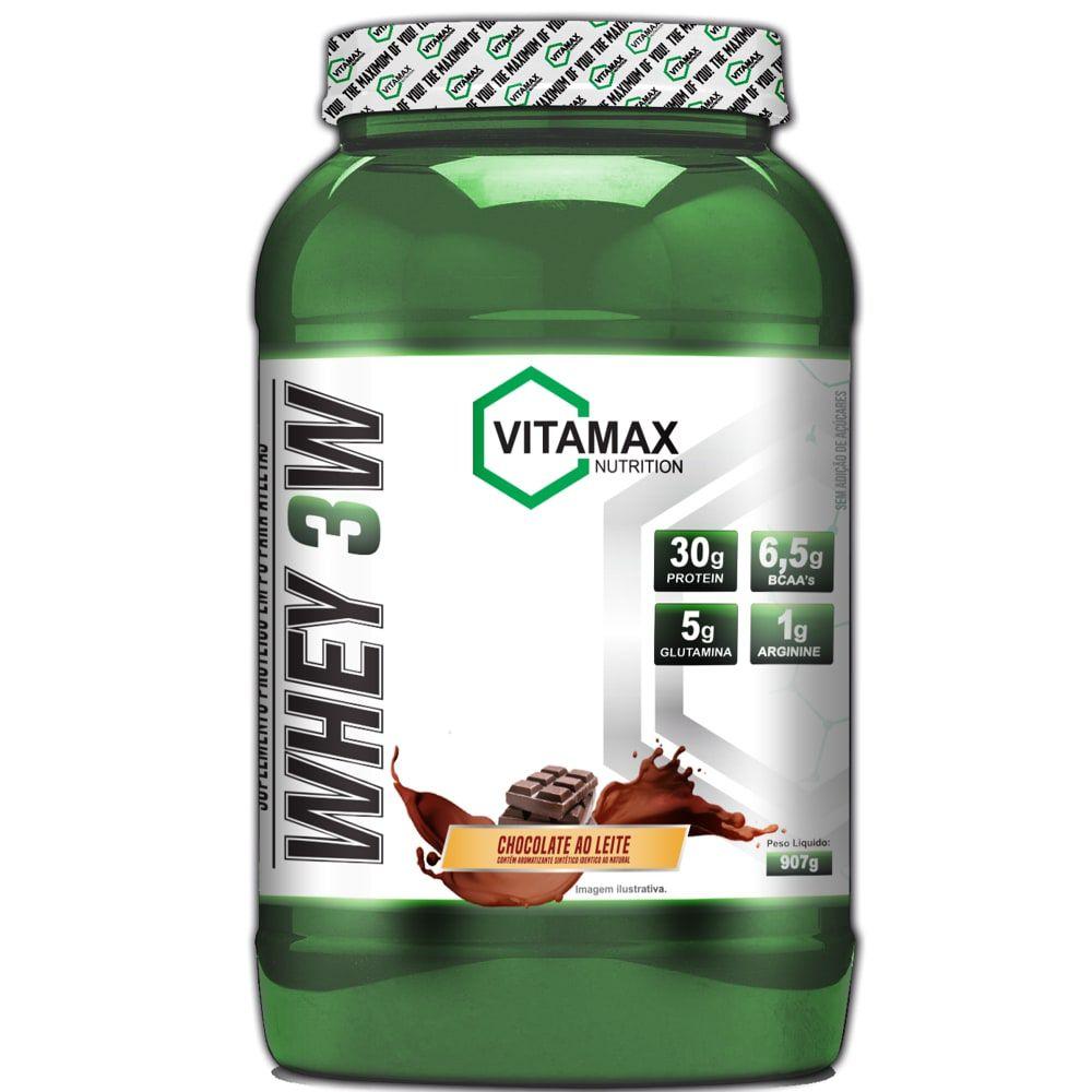 Whey 3W 900g - Vitamax