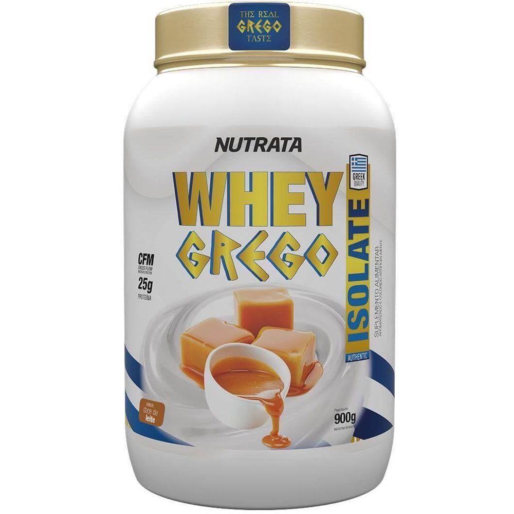 Whey Grego Isolate 900g - Nutrata  - Natulha