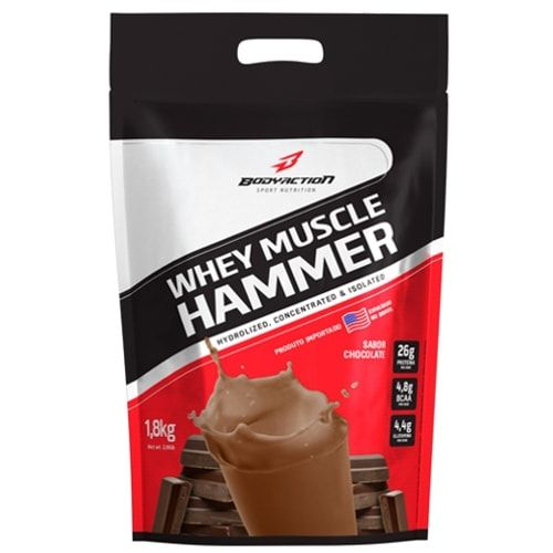 Whey Muscle Hammer 1,8kg  - Body Action  - Personall Suplementos