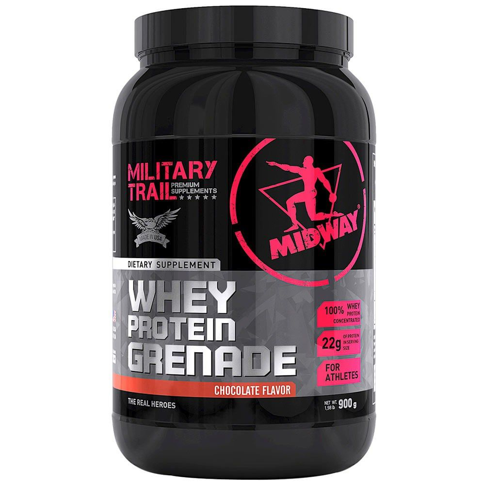 Whey Protein Grenade 900g - Military Trail  - Personall Suplementos