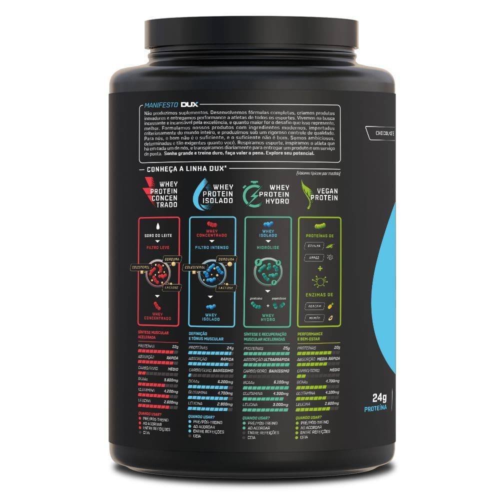 Whey Protein Isolado 900 gramas - Dux Nutrition  - Natulha
