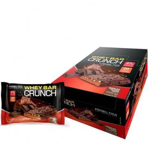 Wheybar Crunch 8uni - Probiótica  - Personall Suplementos