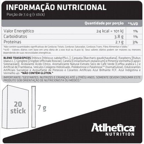 XTEA 20 sachês  - Atlhetica Nutrition  - Personall Suplementos