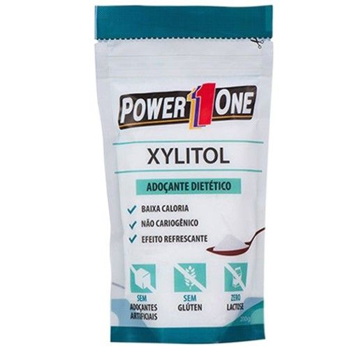 Xylitol 200g - Power One  - Personall Suplementos