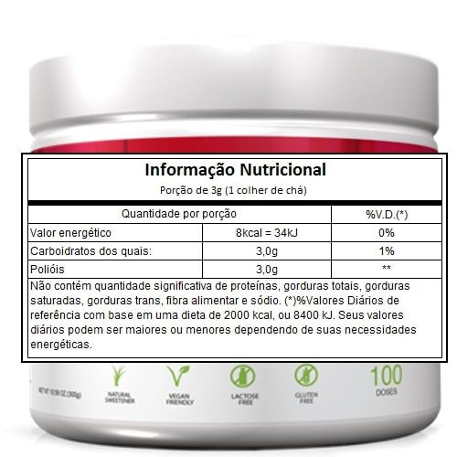 Xylitol 300g - Adaptogen  - Personall Suplementos